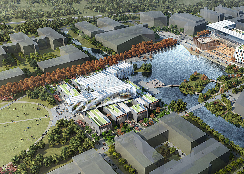 Moore Ruble Yudell And Tongji Design Institute Win The School Of  Architecture And Design At Wenzhou Kean University In Wenzhou China