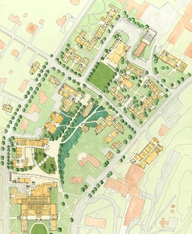 Dartmouth Campus Map on