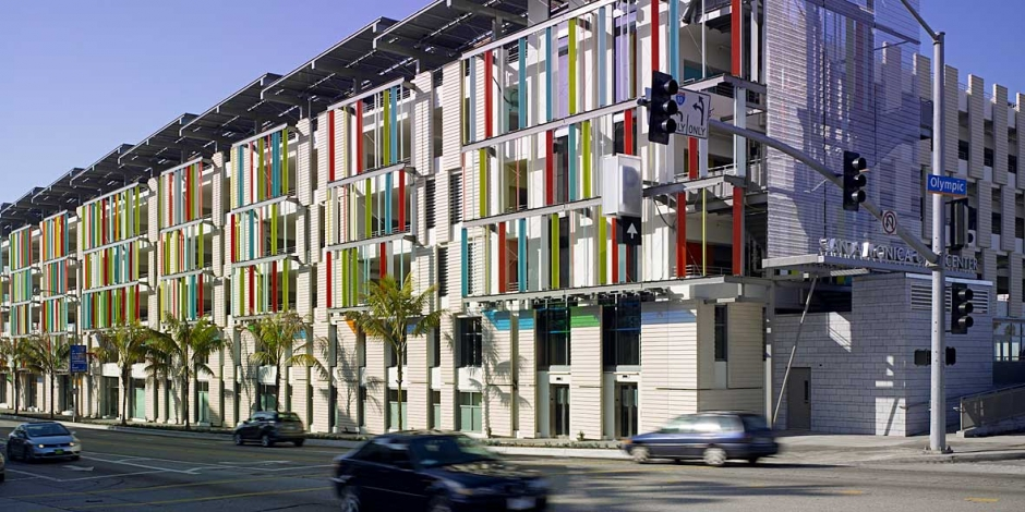 Santa Monica Civic Center Parking Structure Moore Ruble