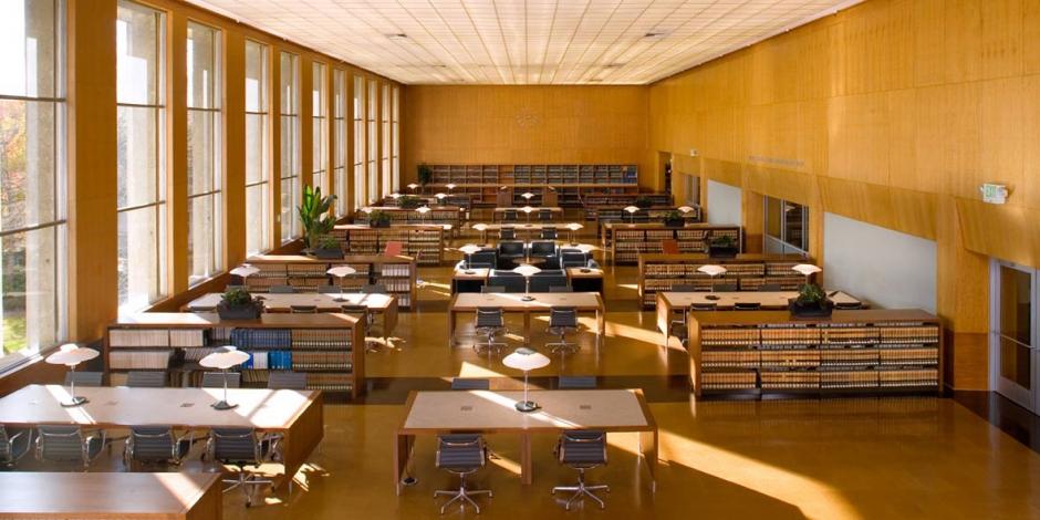 Main reading room boalt hall library university of for Design reading room