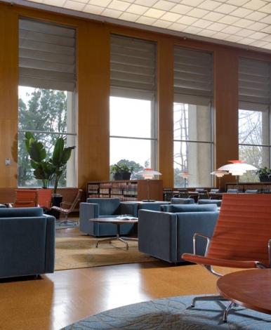 Main Reading Room Boalt Hall Library University of California