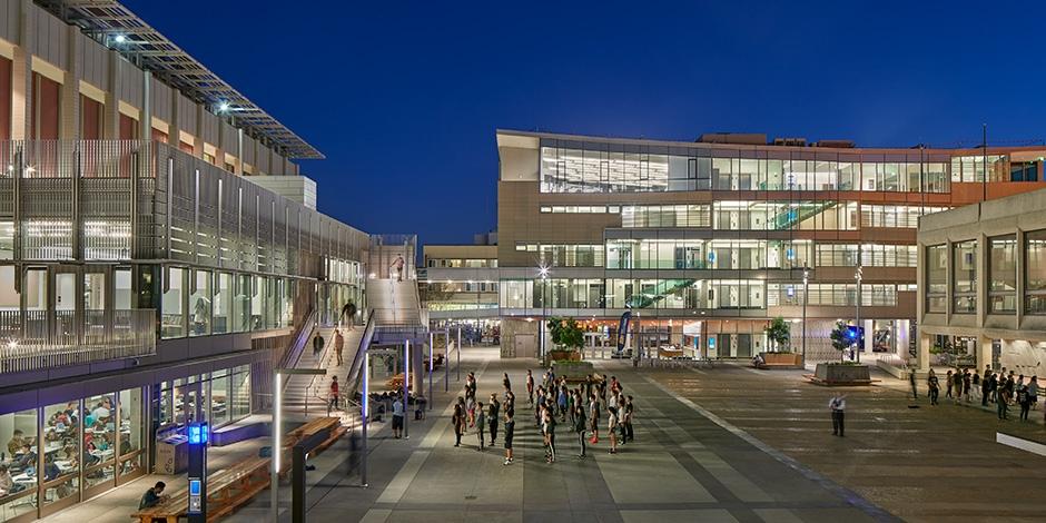 Student Community Center University of California Berkeley 3