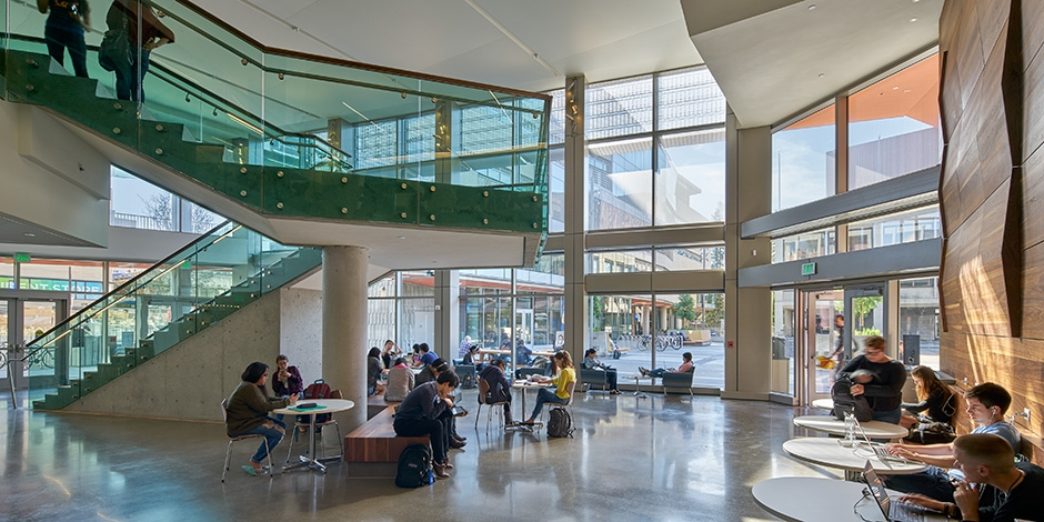 Lower sproul redevelopment university of california - Interior design universities in california ...