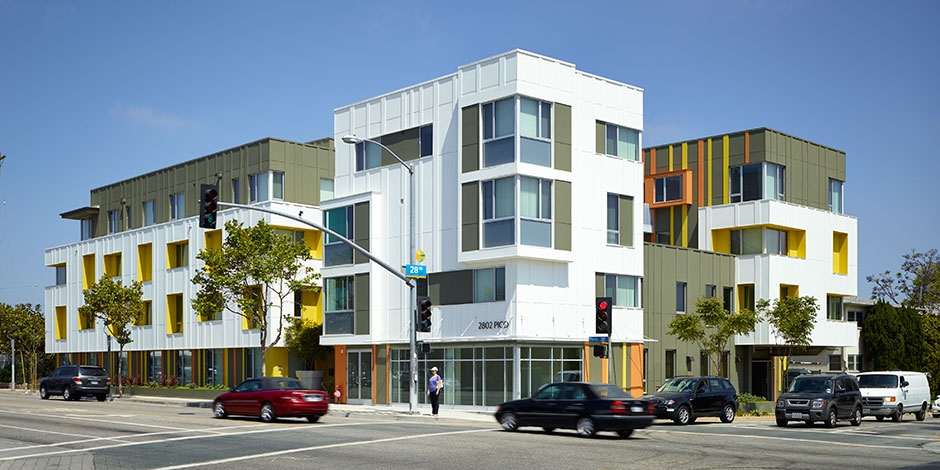 2802 Pico Housing Moore Ruble Yudell Architects Amp Planners
