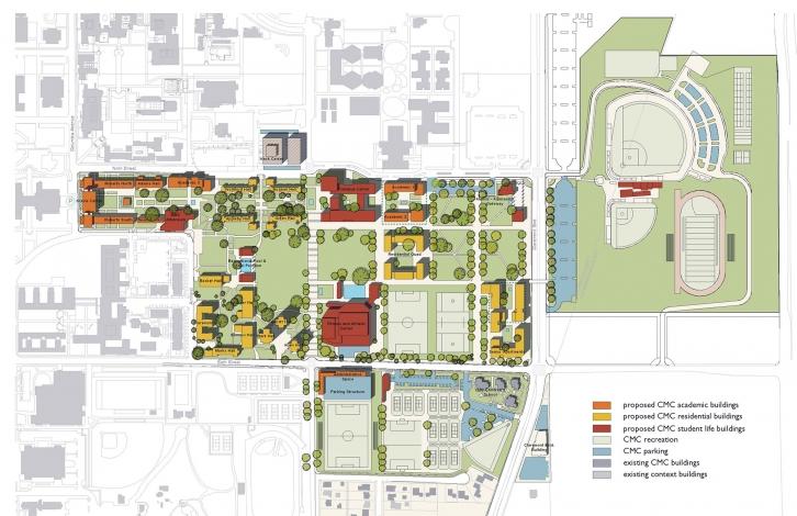 Claremont McKenna College Master Plan | Moore Ruble Yudell