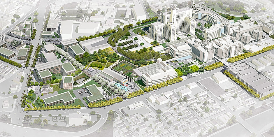 LAC + USC Master Plan | Moore Ruble Yudell Architects ...